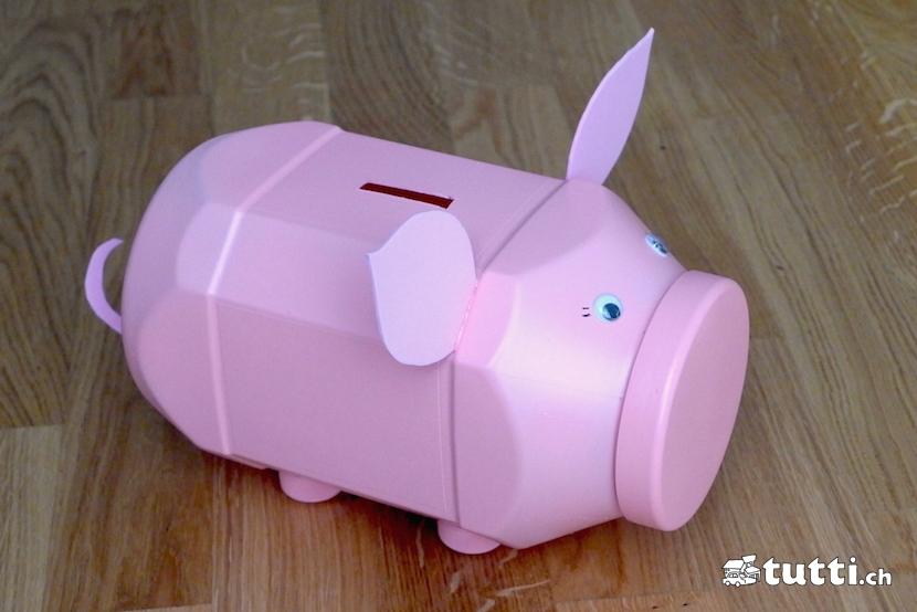 Sparschwein Schritt 3