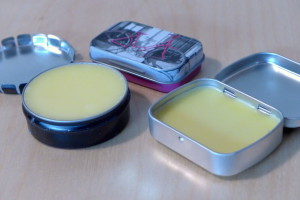Selbstgemachte Lippenpomade